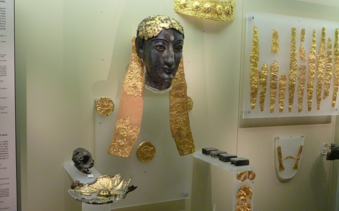 Delphi Gold Artifacts