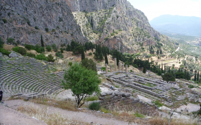 Delphi Great Amphitheater