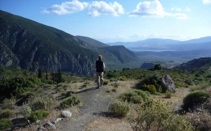 Delphi Pilgrimage Trail
