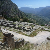 The Temple of Apollo, home of The Oracle