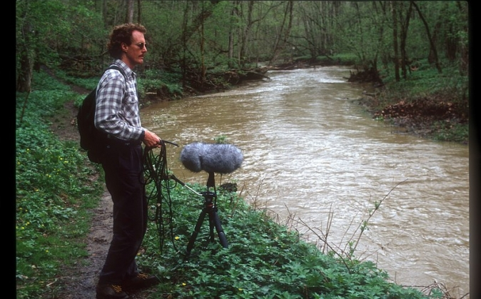 Rusty Crutcher working a creek